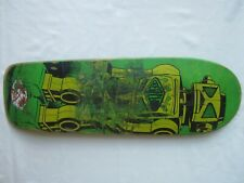 """New listing Vintage CREATURE Skateboard Deck THE ROBOT Wood 31 1/2"""" x 9 3/4"""" RARE 80's 90's"""