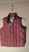Woolrich Dusty Rose, Down, Snap Front Vest, Womens Med.