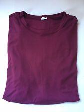 Men's Maroon Sport-Tek LongSleeve Pullover Shirt T-Shirt Medium M
