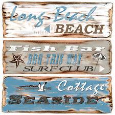 """20 Servietten""""BEACH Signs""""maritim*Beachhouse*Seaside*Strand*Meer*BBQ  Bar 33x33"""