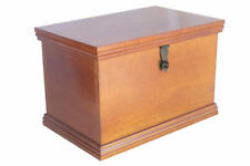 Memory Chest and Time Capsule - Wooden - Lockable - Store Keepsakes and Mementos
