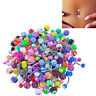 30 Pcs Sexy Belly Bars Body Piercing Button Ring Navel Barbell Jewerly NEW