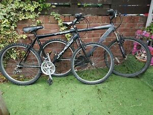 2 x adult bikes for spares and repairs