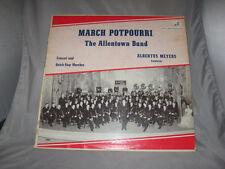 Albertus Meyers THE ALLENTOWN BAND: MARCH POTPOURRI  WFB1205L