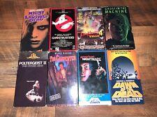 VTG 1980's Horror Movie VHS  Lot 8 Movies