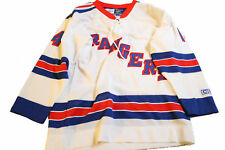 CCM New York Rangers Shanahan Home Kid's Boy's White Hockey Jersey L/XL
