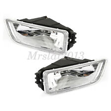Pair Car Front Bumper Fog Driving Light H11 Bulb Kit For Honda Accord 2003-2007