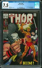 Thor 165 - CGC 7.5 (First Appearance of Him (Becomes Warlock))