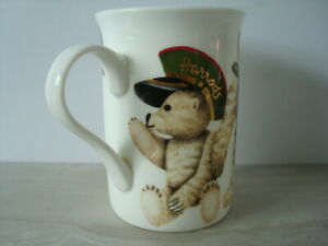 HARRODS 'Teddy Bear Quartet' Fine Bone China Mug / Cup - Made in England - VGC++