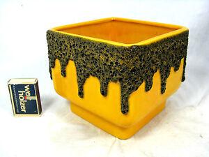 """70´s  WGP design FOHR Keramik """" Fat Lava  """" pottery  vase 906 -12  rare shape"""