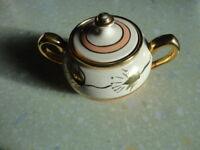 Vintage Sudlow's Burslem Lidded Sugar Bowl