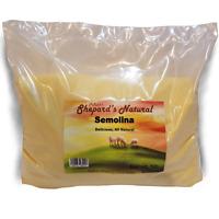 Semolina 5 Ib/80 oz by Shepherd's Natural Great For Pasta.