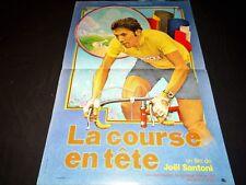 LA COURSE EN TETE  Eddy Merckx affiche cinema  tour de france velo 1974