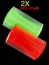 Lice Hair Comb Plastic Dry Wet Nit Flea Lice Eggs Kids Hair Cootie Dust Remover