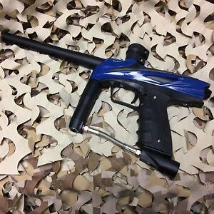 *USED* GoG eNMEy .68 Caliber Mechanical Paintball Gun Marker - Razor Blue