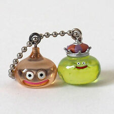 Square Enix SQEX Toys Dragon Quest Crystal Monsters King Slime & Slime Key chain