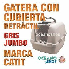 CATITGATERACON CUBIERTA RETRACTIL JUMBO.GRIS