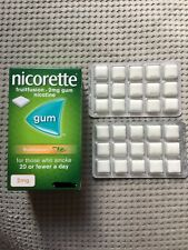 Nicorette Fruitfusion 2mg (Trial Pack 30 Gums) Nicotine Chewing Gum - Exp. 05/22