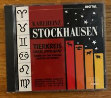Karlheinz Stockhausen - Tierkreis / Oberlippentanz (CD, Album)