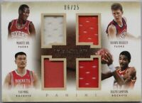 2013-14 Immaculate Yao Ming Shawn Bradley Manute Bol Ralph Sampson Jersey  /25