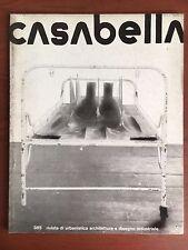Casabella n° 385 Gennaio 1974 Cover: Walter Pichler - E22285
