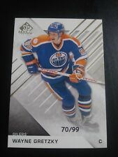Wayne Gretzky 2015-16 SP Game Used #70/99 Oilers