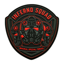 Inferno Squad Imperial Special Forces Shield Patch (3D-PVC Rubber-MIN11)