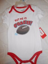 *NWT* INFANT BOYS  'PUT ME IN COACH!  SIZE 3/6 MONTHS