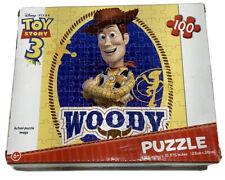"Disney Pixar Toy Story 3 100 Piece Woody Puzzle 9x10"""