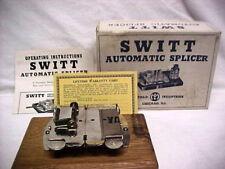 Vintage Photograph Switt 8mm 16mm Movie Film Automatic Splicer Instructions Box