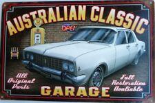 HOLDEN AUSTRALIAN CLASSIC.GOLDEN FLEECE GARAGE ALL WEATHER TIN SIGN 450X300