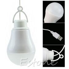 Hot New COOLEAD-5V 5W Camping USB Light Bulb Home Emergency Led Bulb