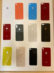 big cam hole for 8 Plus X XR XS 11 12 Pro Max Rear Back Glass Cover Replacement