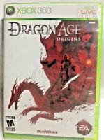 Dragon Age Origins Xbox 360 VIDEO GAME Complete CIB READ NTSC Video Games *C***