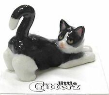 "LC907 - Little Critterz - Tuxedo Kitten named ""Chessie"" (Buy 5 get 6th free!)"