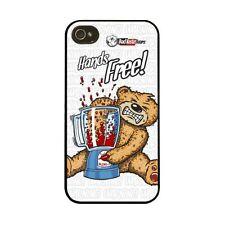 BAD TASTE BEARS - HARD CASE I PHONE 4/4S COVER  - HANDS FREE - NEW