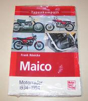 Typenkompass | Maico Motorräder - von 1934 bis 1994 | Frank Rönicke