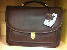 Leather Briefcase With Lock Winn International for unisex