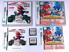 Spiele: Mario & Sonic olym.Spiele + Mario Kart / Nintendo DS + Lite