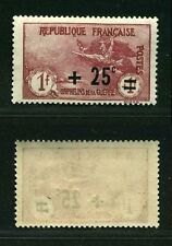 """FRANCE STAMP TIMBRE N° 168 """" ORPHELINS  +25c S .1F+1F """"  NEUF xx TTB"""