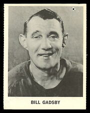 1965 COCA-COLA COKE BILL GADSBY VG-EX DETROIT RED WINGS HOCKEY CARD FREE SHIP