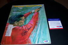 GAY BREWER MASTERS PSA/DNA SIGNED SPORTS ILLUSTRATED