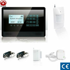 Kit Systeme d'Alarme maison 99 Zone* sans fil Internet Wifi Iphone GSM Tablette