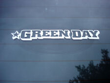 green day punk rock band decal sticker