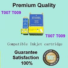 2x T007 1x T009 Ink Cart Compatible with EPSON Stylus Photo 1270 1290 Silver