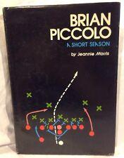 New listing Brian Piccolo : A Short Season by Jeannie Morris Chicago Bears Nfl Football