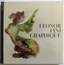 Leonor Fini graphique. Lausanne, La Guilde du Livre, 1971, in-4 carré, demi-toil