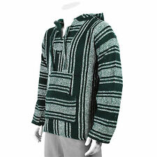 Cotton Blend Hooded Striped Hoodies & Sweats for Men