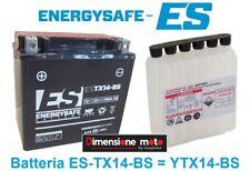 Batteria ENERGYSAFE ES-TX14-BS 12V-12Ah per PIAGGIO Vespa GTS 300 Super dal 2008