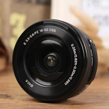 Sony E PZ 16-50 mm f/3.5-5.6 OSS Lens Black A6300 A5100 A5000 White Box New UK